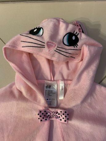 Strój na bal strój kotka kota kotek pelerynka 92 98