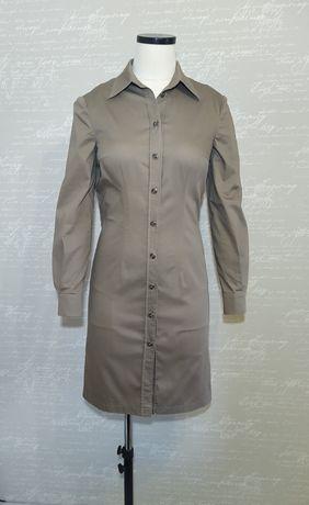 Платье-рубашка р.44