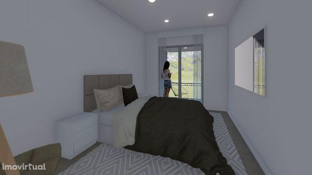 Apartamento T1 Novo com garagem na cidade da Covilhã