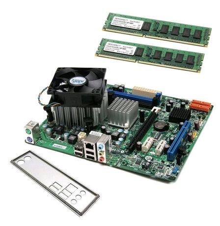 ZESTAW MSI MS-7653 + Dual-Core E6500 + COOLER+RAM