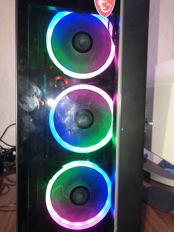 Игровой компьютер, пк,  ryzen 2700x, ссд 480,16гб озу(2600x,  5 3600)