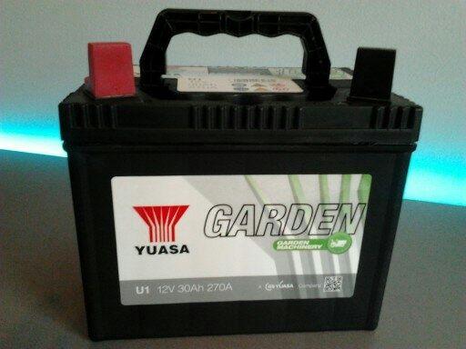Akumulator Yuasa Garden 12V 30Ah 330A Do Kosiarki Traktorka Quada
