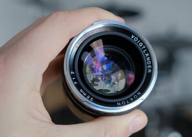 Продам Voigtlander Nokton 35mm f/1.2 Aspherical II ідельний стан!!!