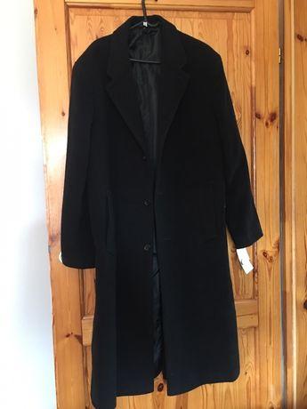 Sprzedam nowy z metką czarny płaszcz męski rozmiar L