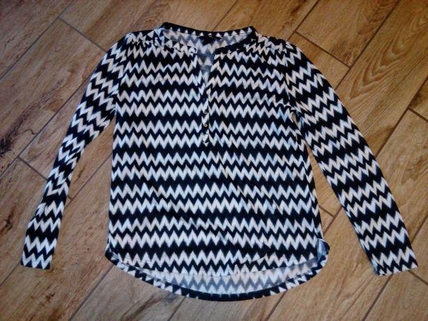 Nowa H&m bluzka aztecka xs s 34 36 zara bluzeczka kratka pepitka