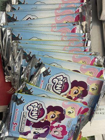 Karty 100szt My Little Pony 20 saszetek moj kucyk pony
