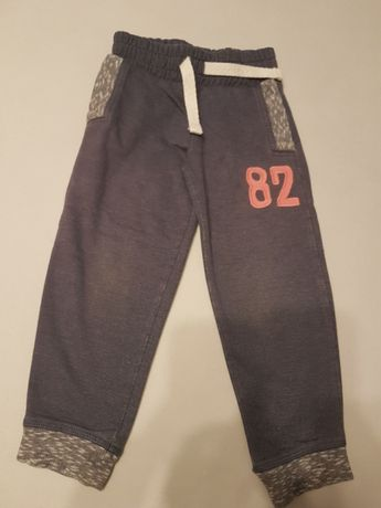 Spodnie dresowe Next joggersy 98