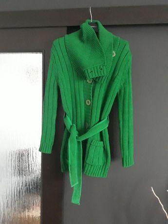 Zielony swetr r. 36/38