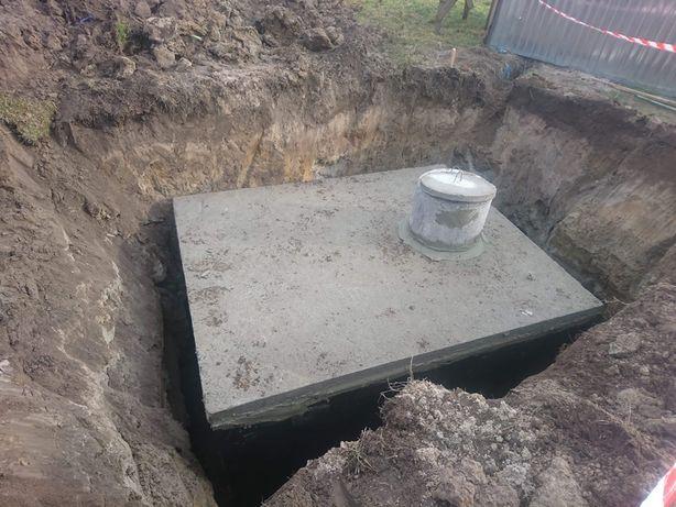 Szamba zbiorniki piwnice betonowe Kielce Radomsko Łódź Kalisz Poznań