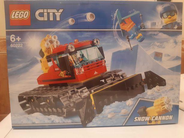 Lego City 60222 - pług gąsienicowy