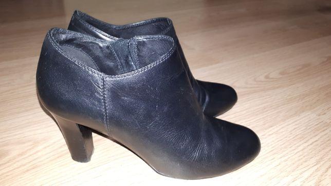 Кожаные ботинки демисезон сапоги женские GEOX