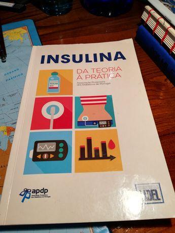 """Livro """"Insulina: da teoria à prática"""" LIDEL"""