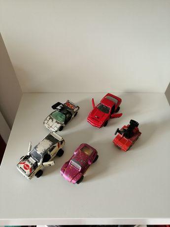 5 Miniaturas Majorette, Tomica, Matchbox