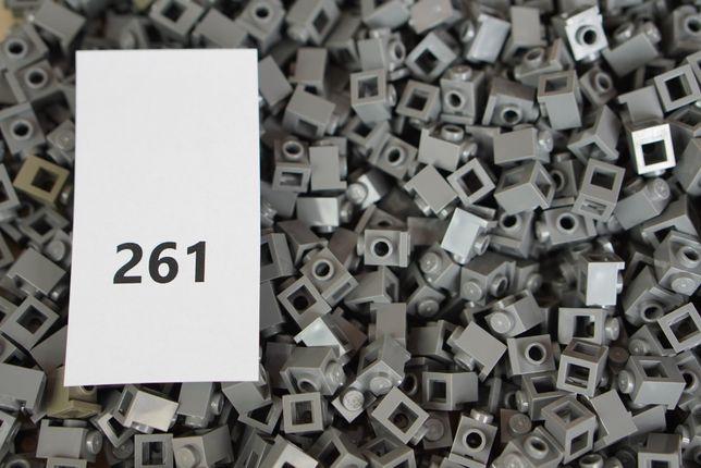 Lego #261 Dark Bluish GrayBrick Modified 1x1 - 0,25zł/szt Castle City