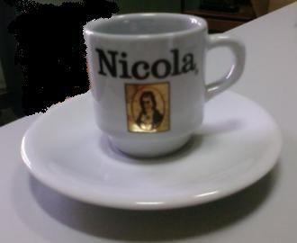 Lote de 4 chávenas café Lavazza Sanzala Tofa ou Nicola