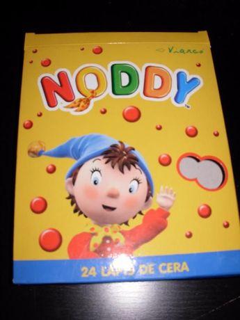 24 Lápis de cera Noddy NOVO
