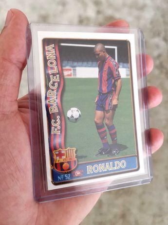 CARTAS Futebol - Ronaldo Nazário - Mundi Cromo - Barcelona 1996-97