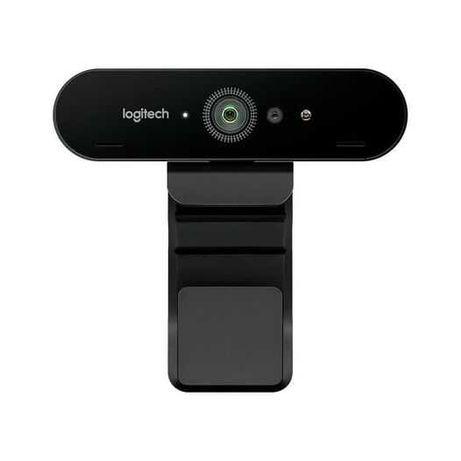 Vendo Webcam Logitech Brio 4K- Preto (com 1 ano e 9 meses de garantia)