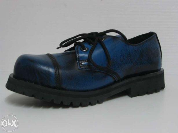 Nº3 Sapato alpha rangers com biqueira de aço sola aparafusada novo com