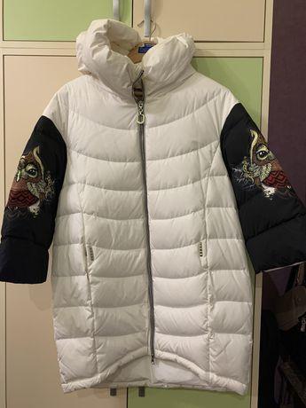 Продам пуховую куртку JustGaga