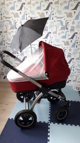 Wózek maxi cosi mura 4 plus + nosidełko fotelik cabriofix - super 3w1