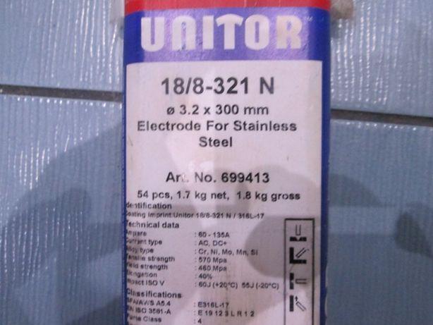 электроды по нержавейке ЮНИТОР