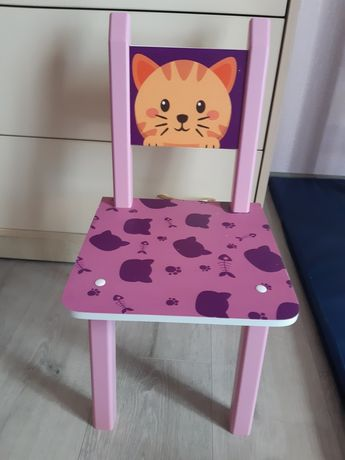 Детский стульчик. Стул для девочки