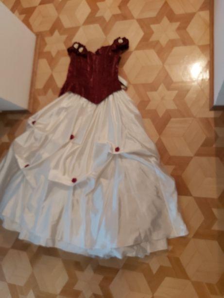 Elegancka suknia na uroczystości,ślub,wesele,sylwester