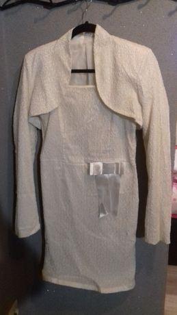 Sprzedam- sukienka ecru