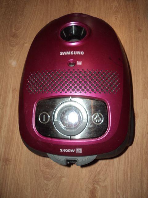 Aspirador Samsung com motor avariado