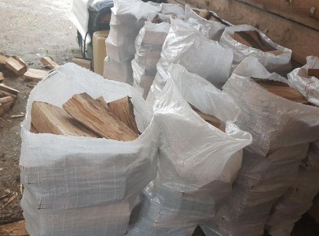 Продажа фруктовых дров для мангала в мешках!