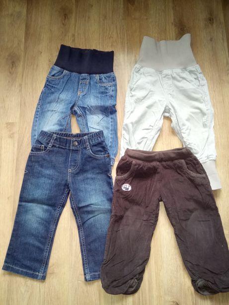 Spodnie chłopięce 86