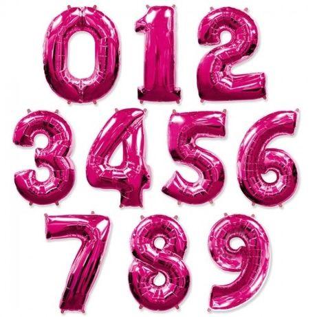 Шар цифра (1,2,3,4,5,6,7,8,9.0) 1м. Испания.Декор, фотозона