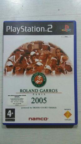 Jogo Ps2 Roland Garros 2005 NOVO