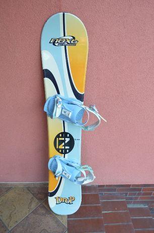 deska snowboardowa Nidecker Next 143 cm z Drake Glady M