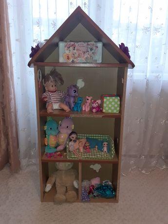 Будинок для іграшок, домик для кукол.