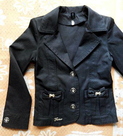 Форма школьная пиджак на 6-8 лет