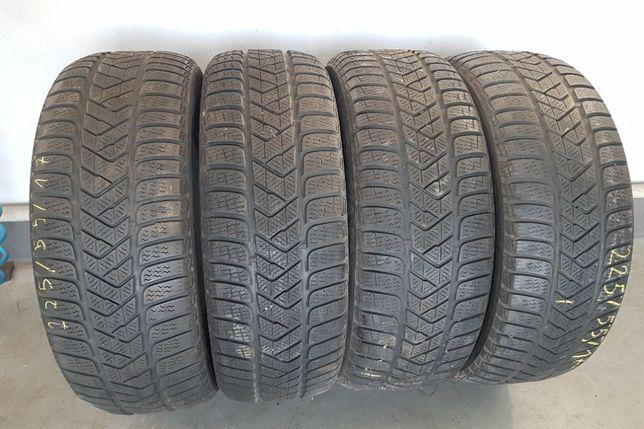 4 opony 225/55/R17 101V Pirelli Sottozero 3 2016r