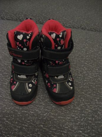 Чобітки зимові дівчачі B&Gtermo 27 розмір