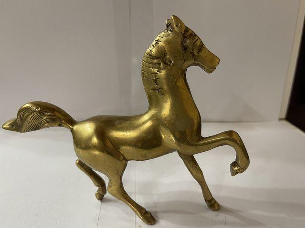 Лошадь статаэтка латунь Польша