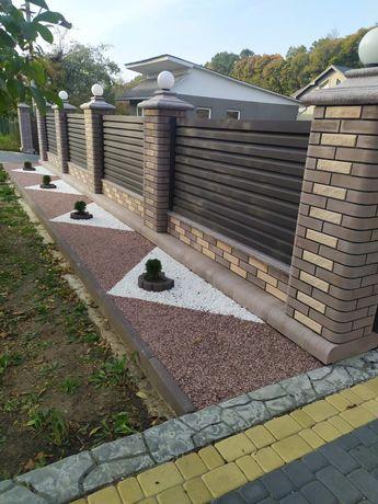 Паркани бетони зварка стяжки