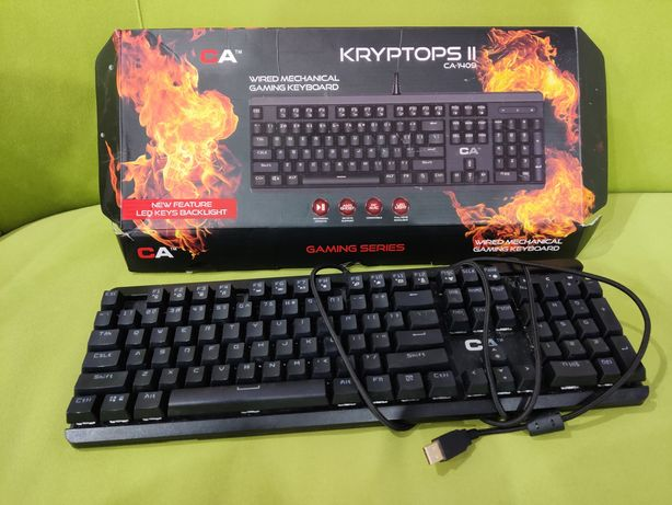 Klawiatura Gamingowa KRYPTOPS II ca-1409