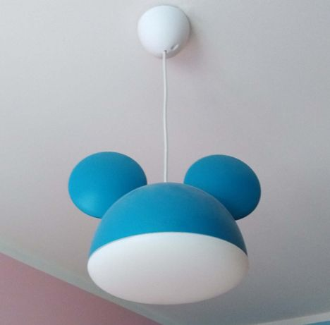 Żyrandol, lampion dziecięcy Disney Mickey Mouse firmy Philips