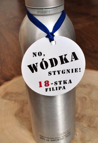 Zawieszki na alkohol urodziny osiemnastka slub