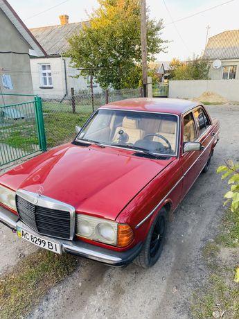 Продам Мерседес 123d в хорошому стані