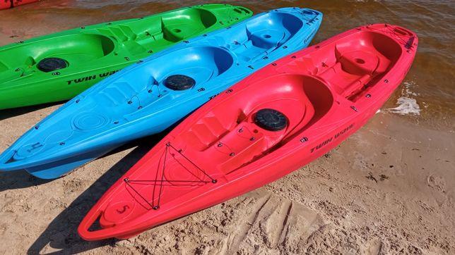 Каяк трёхместный байдарка Riverday Kolibri лодка каное