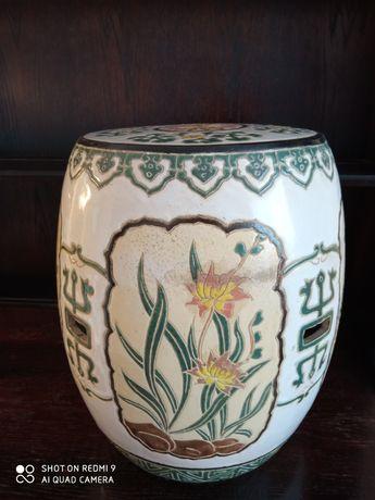 Pufa stołek kwietnik siedzisko ceramika