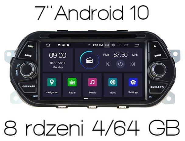 Radio 2din nawigacja FIAT TIPO PX5 4/64 GB ANDROID 10 Wysyłka w 24h FV
