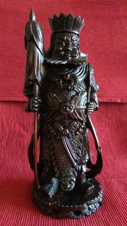 Escultura em madeira seclo 19 imponente.