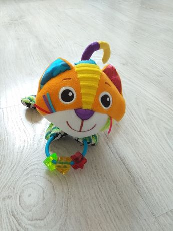 Мягкая игрушка-погремушка Котик